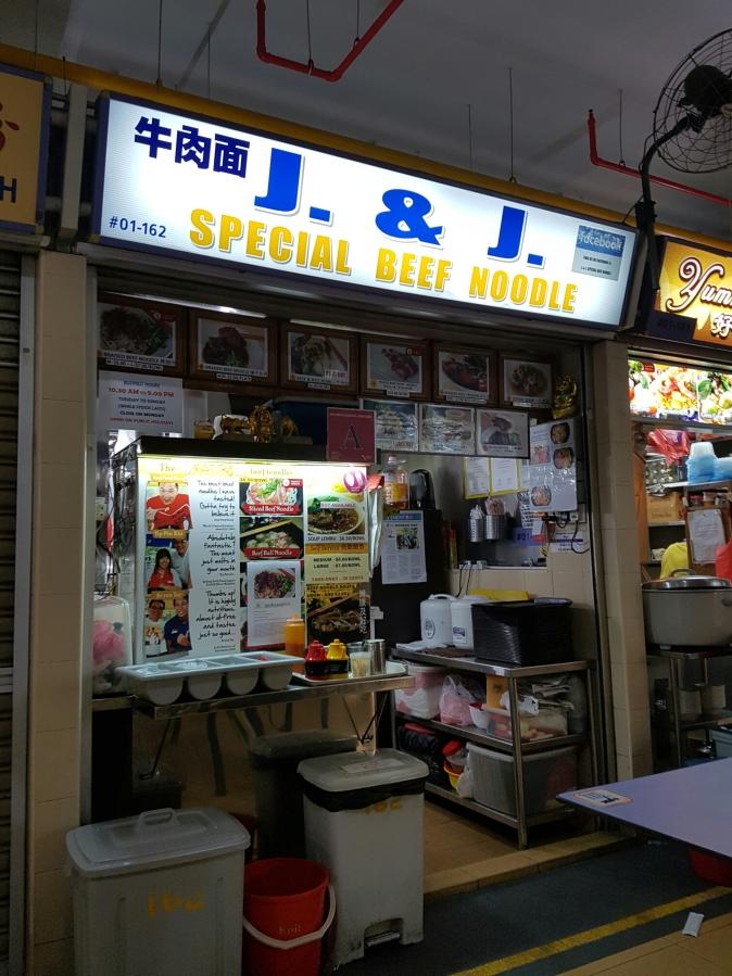 Restaurant standard hawker price beefnoodle