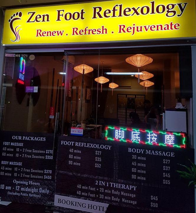 zen foot relexology